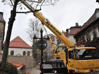 Auto-Klug takes Germany's first Grove GMK4100L-1 to be equipped with a K-100 synthetic rope