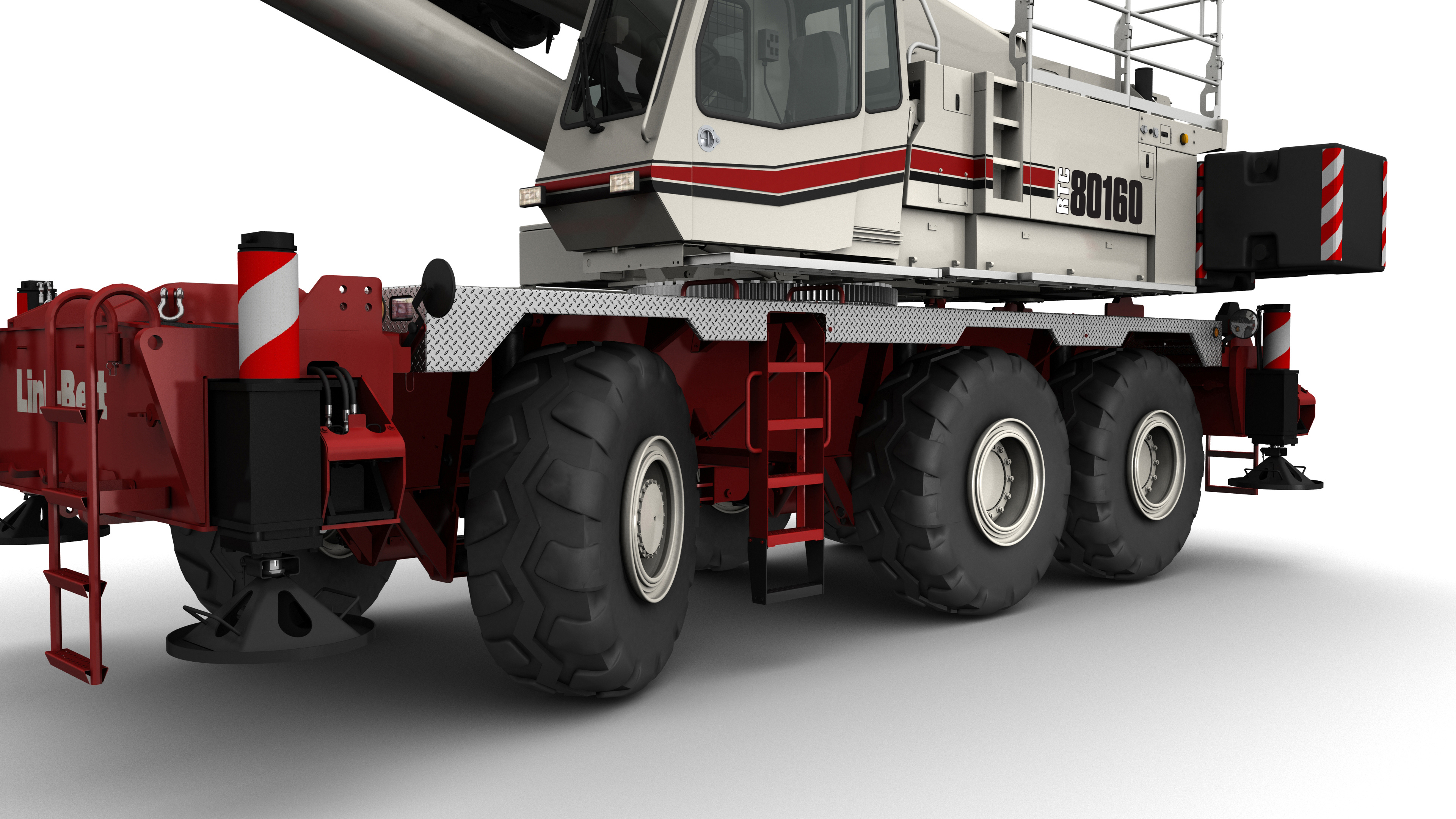 Link-Belt-RTC-80160-Series-II-Rough Terrain-Crane