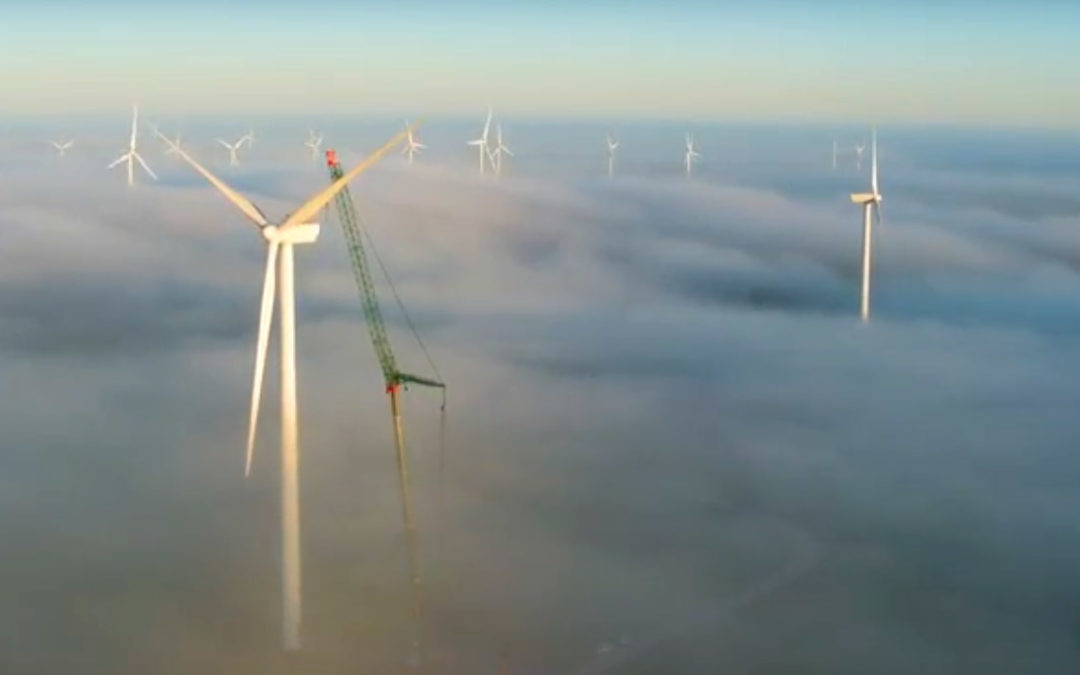 Cool Video of Pfeiffer Cranes working the Mussleroe Wind Farm in Tazmania