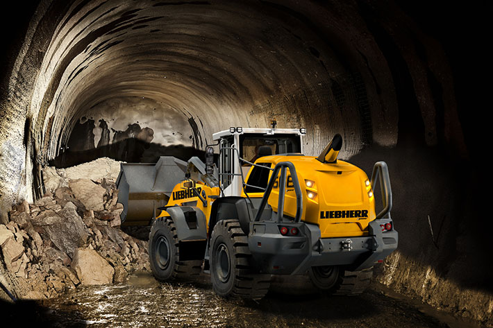 Four Liebherr XPower wheel loader models are now available in an Underground Tunnel Version