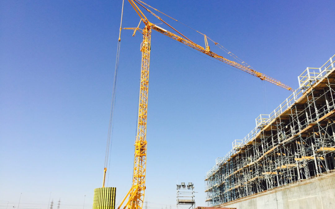 NFT expands fleet with high capacity tower cranes from Potain.