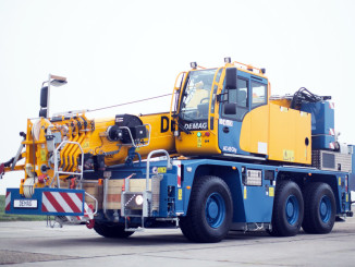 The new Demag AC 45 City Crane