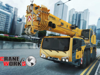 The Demag AC 100-4 All Terrain Mobile Crane
