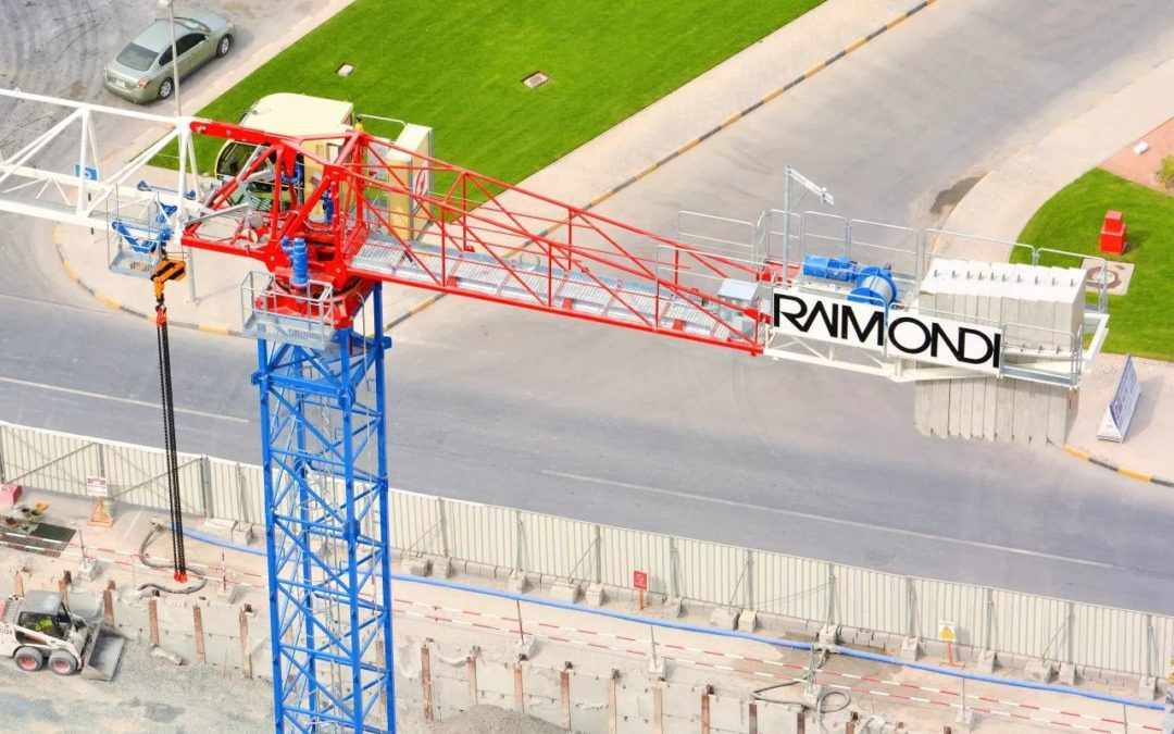 Raimondi Cranes to exhibit in the for the first time in the Middle East @ the Big 5 Heavy in Dubai, UAE