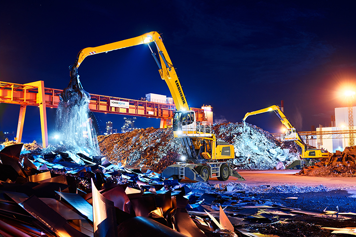 Voestalpine AG adds six new Liebherr LH 60 M Industry Litronic material handlers