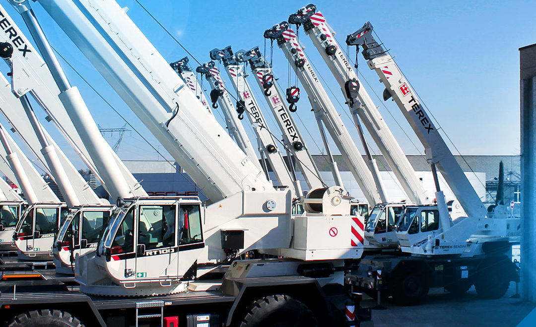 TECHNO-Gru ordered 34 Terex Rough Terrain Cranes from 35-90-ton capacity