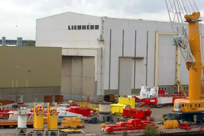 Liebherr workers at the Sunderland, England plant taking action to strike tonight