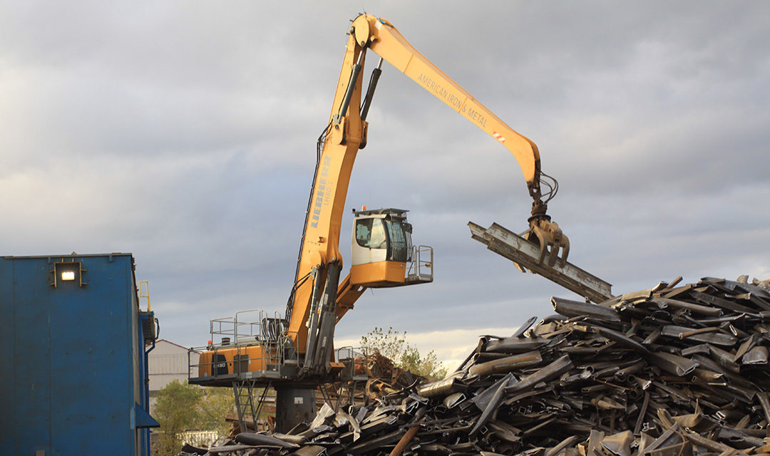 Here's how AIM Recycling hits its targets with Liebherr Material Handlers