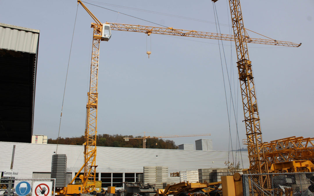 Manitowoc's EnCORE program revitalizes older Potain crane for Stirnimann
