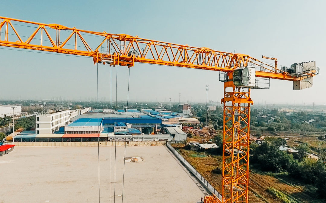 Potain introduces the MCT 565, their highest capacity Flat Top Tower Crane