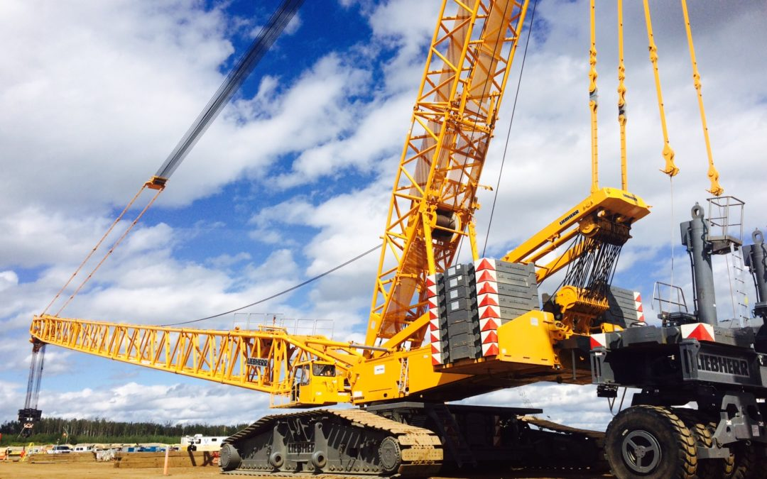 Crawler Crane manufacturers focus on technological improvements