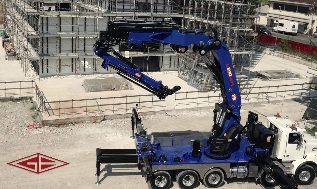 Giuffre Bros. is now a dealer for the PM line of Knuckle Boom Cranes