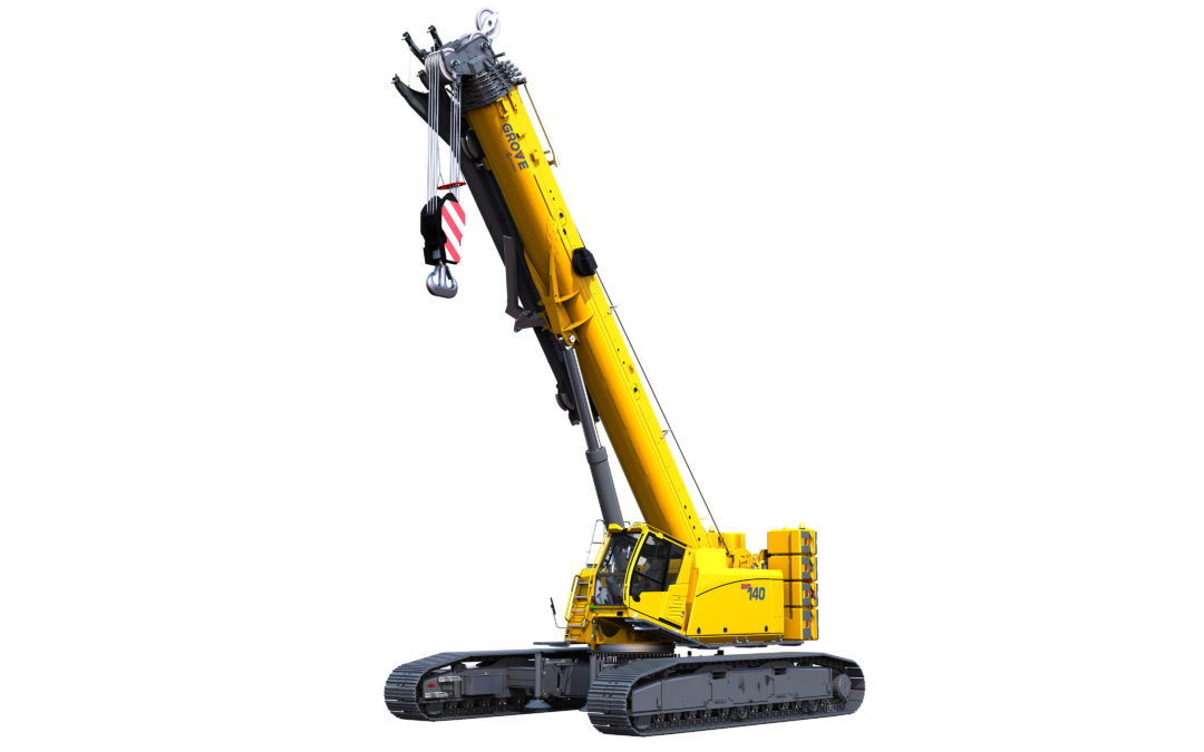 Manitowoc introduces the Grove 140-ton GHC140 Telescopic Boom Crawler Crane