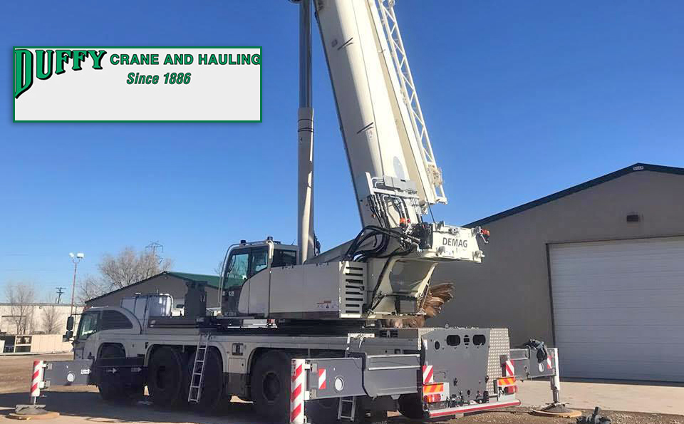 A Demag AC 220-5 All Terrain Crane goes to Duffy Crane & Hauling, Inc. based in Denver, Colorado