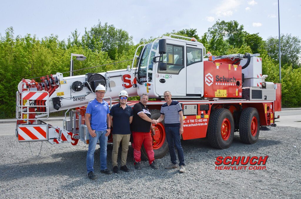 New Demag AC 45 City Class All Terrain for Schuch Krandienst