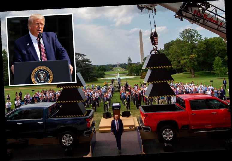 President Trump: 'I love cranes. I love trucks of all types' We agree!!