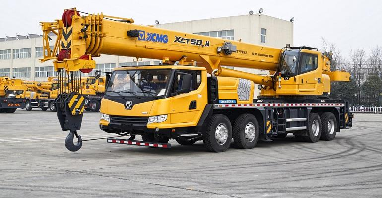 XCMG released a new line of Cranes for Middle East truck cranes, crawler cranes, tower cranes and aerial work platforms