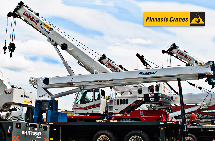 Pinnacle Cranes a Link-Belt, Manitex and Shuttlelift dealer is acquired by Tecum Equity