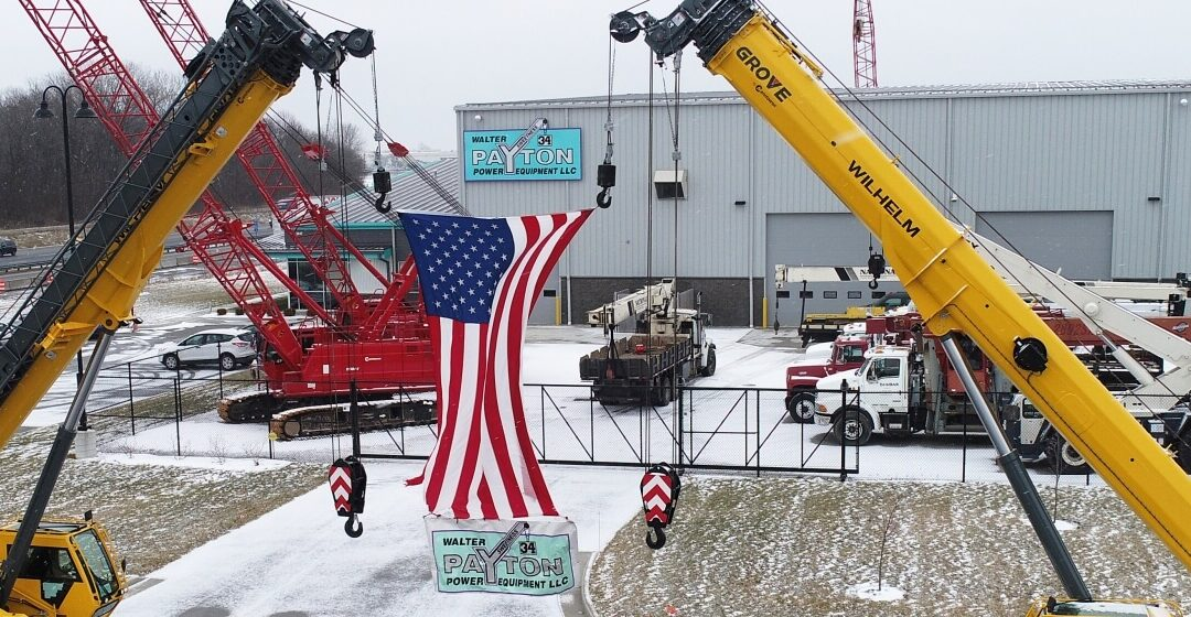 F.A. Wilhelm adds two Grove GRT655Ls Rough Terrain cranes from Walter Payton Power Equipment