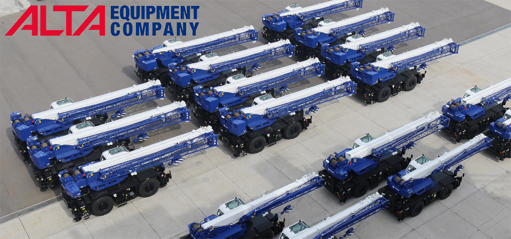 Alta Equipment now a Authorized Tadano Dealer serving Illinois and Indiana