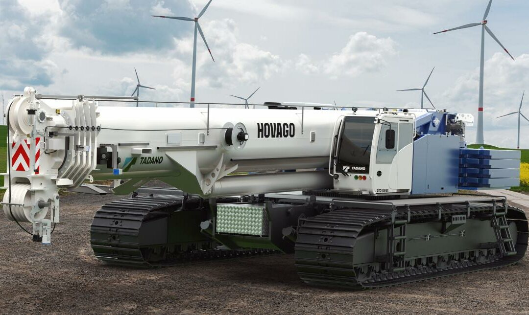WOW, Nine big NEW Tadano Demags for Hovago