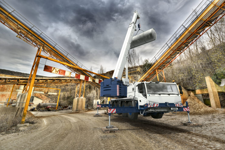 Tadano introduces New Compact line of All Terrain Cranes with the 75-ton AC 4.070-1 and AC 4.070L-1