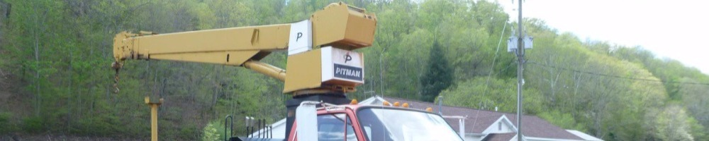 Parts Attachments and Components Boom Sections Pitman Cranes for